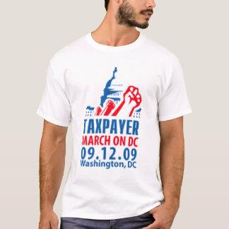 T-shirt Contribuable mars sur le Washington DC 09.12.09