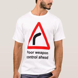 T-shirt Contrôle des armes pauvre