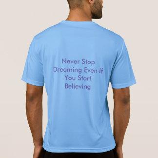 T-shirt convenable de dri de pas traînant du JP
