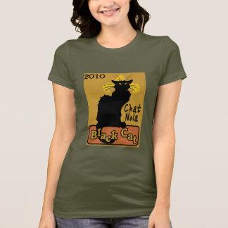 T-shirt Conversation Nola, chat noir, 2010