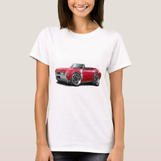 T-shirt Convertible 1968 Rouge-Blanc d'Olds 442