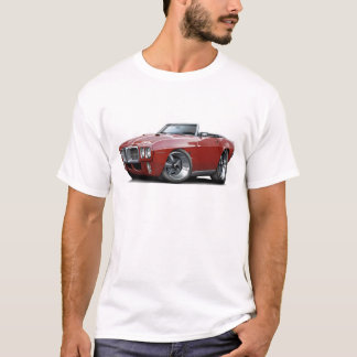 T-shirt Convertible 1969 marron de Firebird