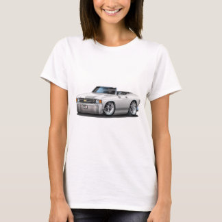 T-shirt Convertible 1971-72 blanc de Chevelle
