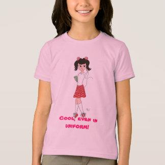 T-shirt Cool, même dans l'uniforme !