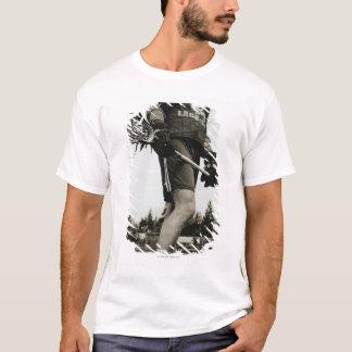 T-shirt Coordonnée d'athlète de lacrosse