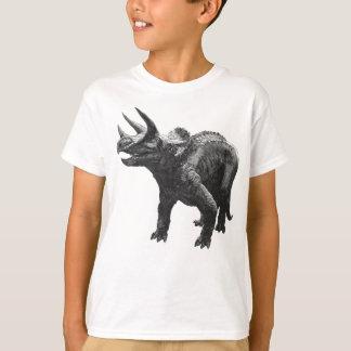 T-shirt Copie d'antiquité de dinosaure de Triceratops