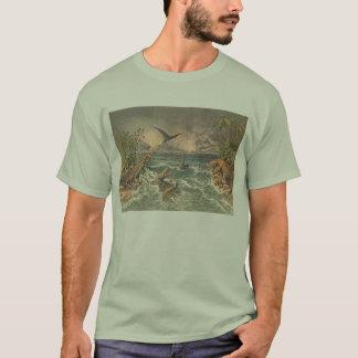 T-shirt Copie d'antiquité de la vie préhistorique