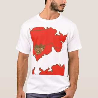 T-shirt copie de bloc de pavot et de ciel