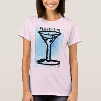 T-shirt Copie de BLUES-TINI par Jill