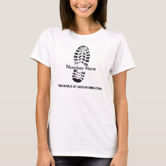 T-shirt Copie de botte trackable