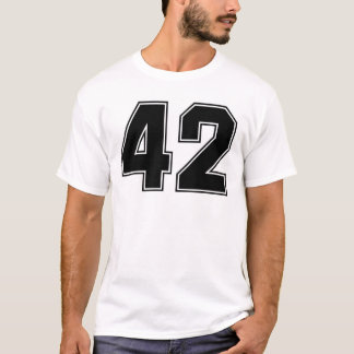 T-shirt Copie de frontside du numéro 42