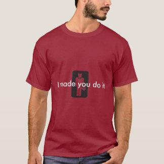 T-shirt Copie de logo de diable, je vous ai faits la fais