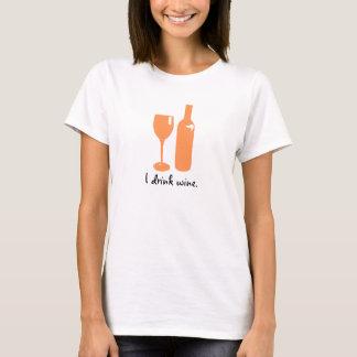 T-shirt Copie de pêche pour la chemise des femmes des