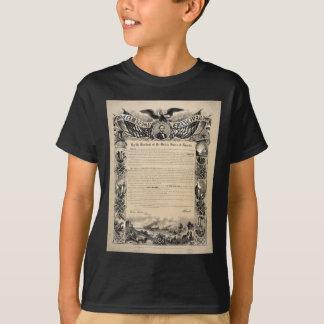 T-shirt Copie de proclamation d'émancipation