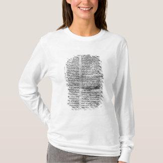 T-shirt Copie de télécopie