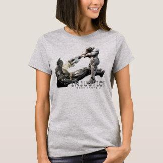 T-shirt Copie d'écran : Batman contre le cyborg