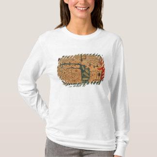 T-shirt Copie d'un mappamundi du 8ème siècle de Beatus