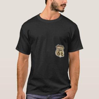T-shirt Copie historique de poche de signe de route de
