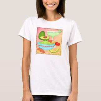 T-shirt Corail coloré de guacamole de margarita