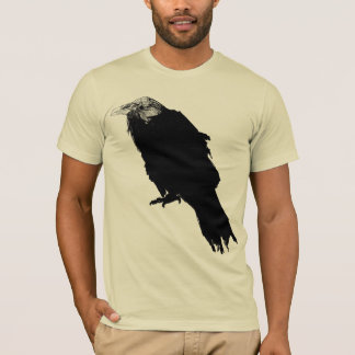 T-shirt corbeau
