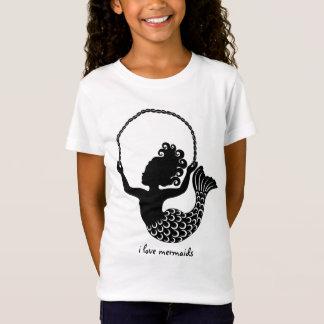 T-Shirt Corde à sauter de petite sirène