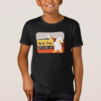 T-Shirt Corne de brume qui est une plaisanterie, fils