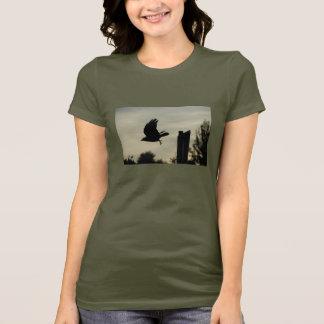 T-shirt Corneille en vol