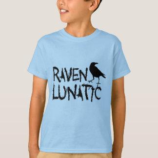 T-shirt Corneille noire folle de Raven