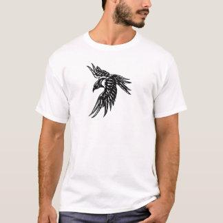 T-shirt Corneille tribale