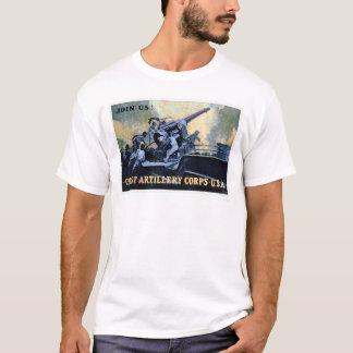 T-shirt Corps d'artillerie de côte (US02042)
