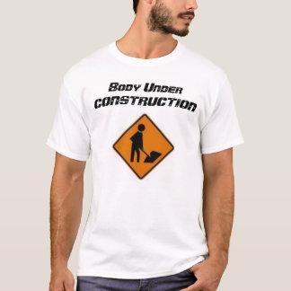 T-shirt Corps en construction