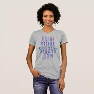 T-shirt Corps fort de coeur solide