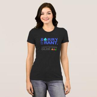 T-shirt Correctement huilé