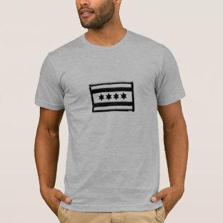T-shirt Correction de drapeau de Chicago