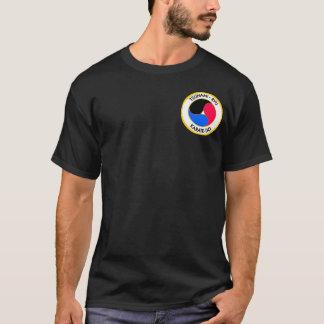 T-shirt correction sur le noir