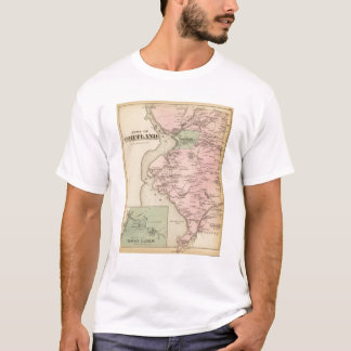 T-shirt Cortland, Croton débarquant, New York