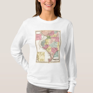 T-shirt Cortlandt, ville