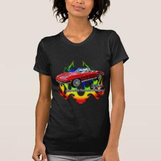T-shirt Corvette 1964 par le tee - shirt de fractale (TM)