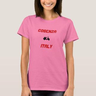T-shirt Cosenza, scooter de l'Italie