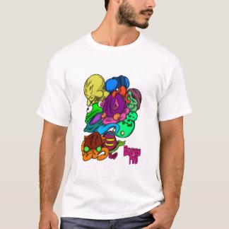 T-shirt Cosse de gargouillis
