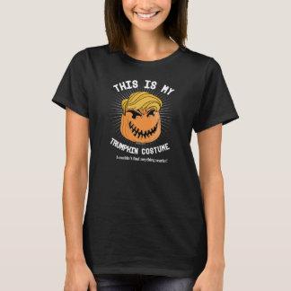 T-shirt Costume de Donald Trumpkin Halloween - je ne