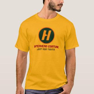 T-shirt Costume de super héros - avec le monogramme fait