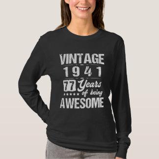T-shirt Costume frais pour le soixante-dix-septième