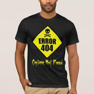 T-shirt Costume Halloween non trouvé des erreurs 404