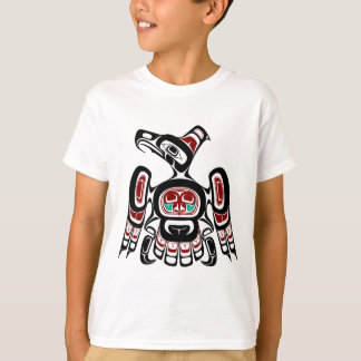 T-shirt Côte Pacifique du nord-ouest Kaigani Thunderbird