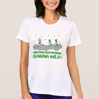 T-shirt Côte sauvage courante de l'espace