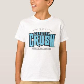 T-shirt côtier d'écrasement/fritures