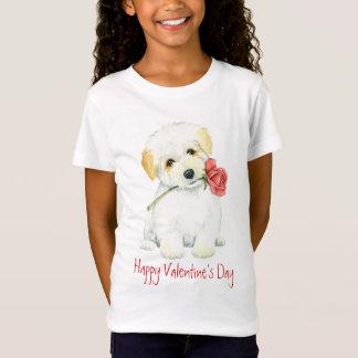 T-Shirt Coton rose de Valentine