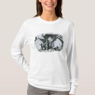 T-shirt Cottages de la paysannerie dans l'ouest de