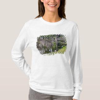 T-shirt Cottages en pierre de Cotswold dans le village de